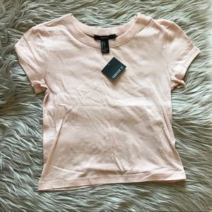 NWT F21 blush top